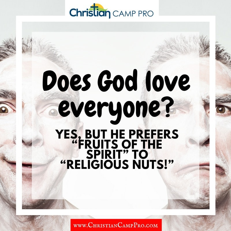 does god love everyone