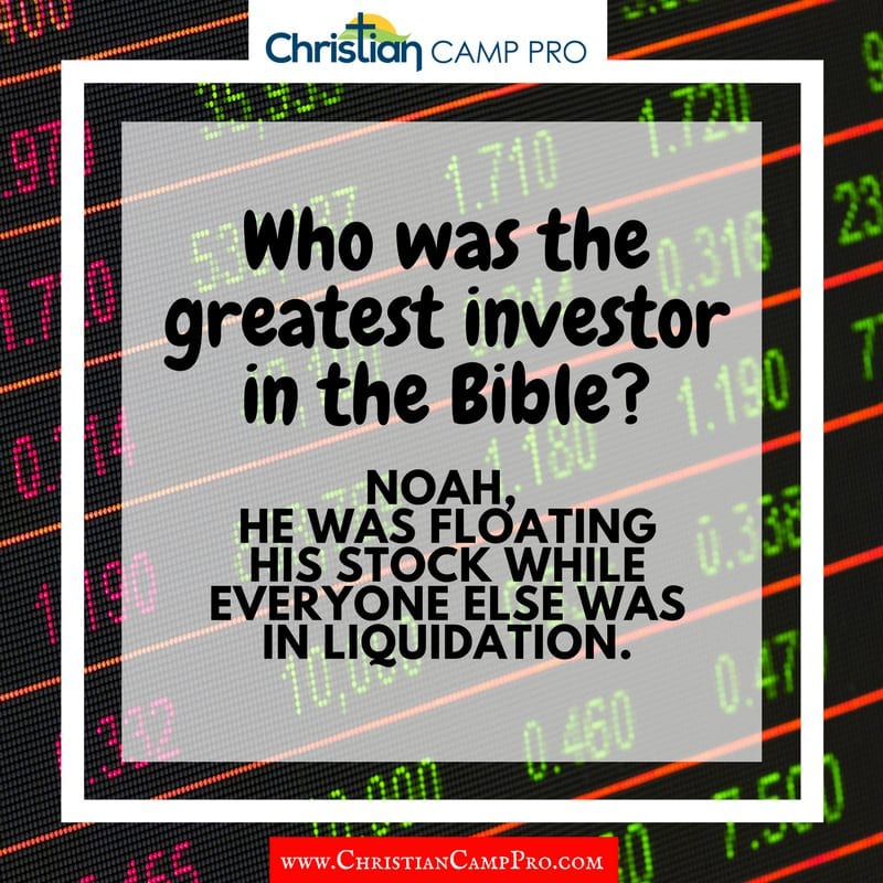 greatest investor in bible