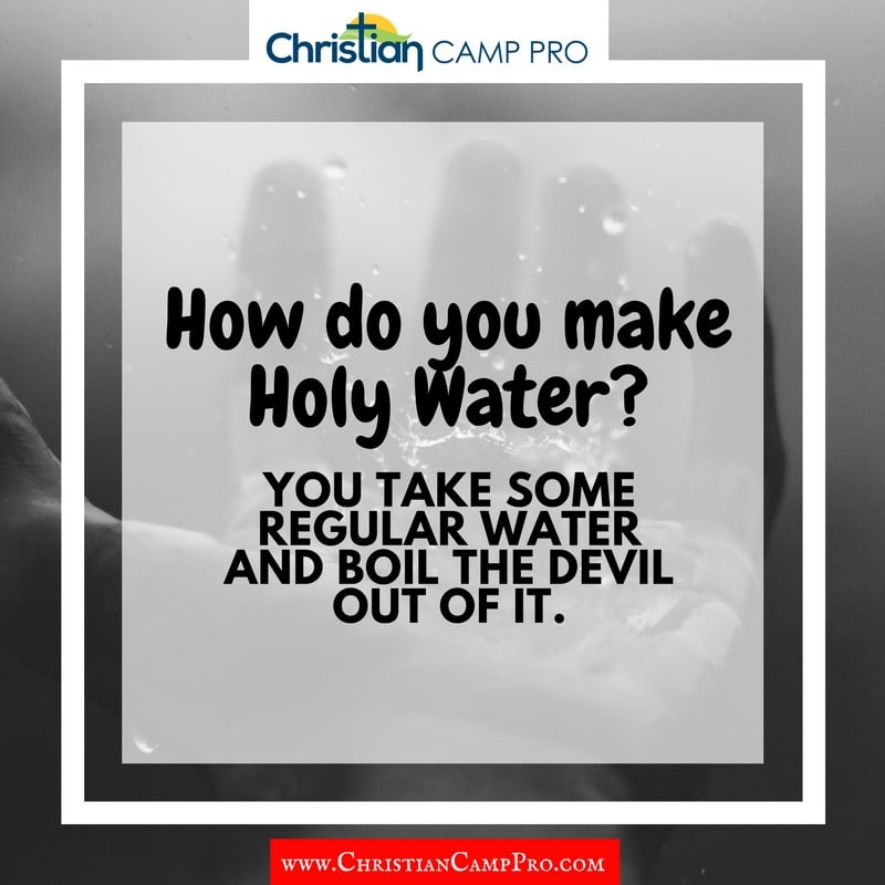 how do you make holy water