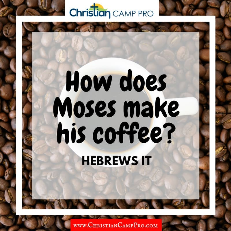 how does moses make his coffee