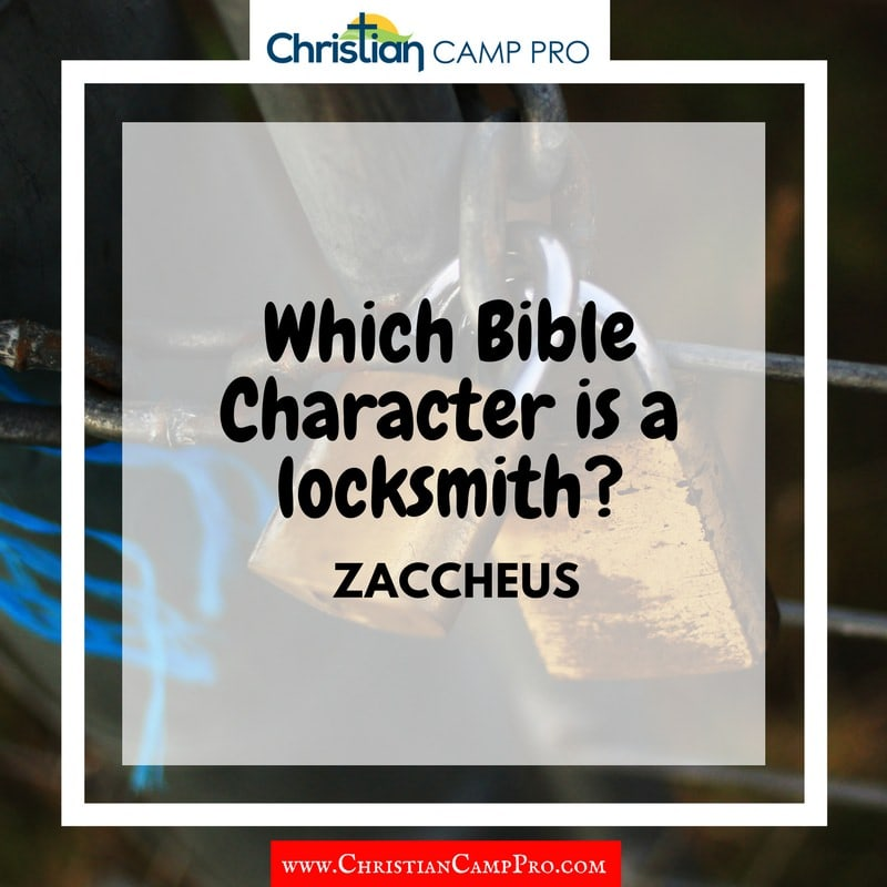 locksmith character in the bible