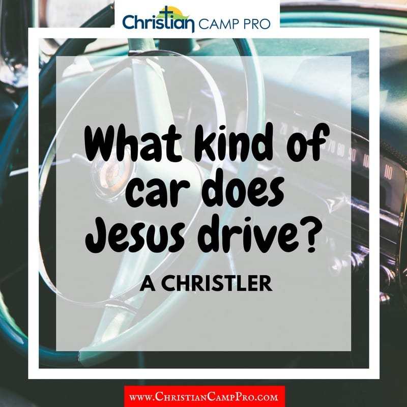 what kind of car does jesus drive
