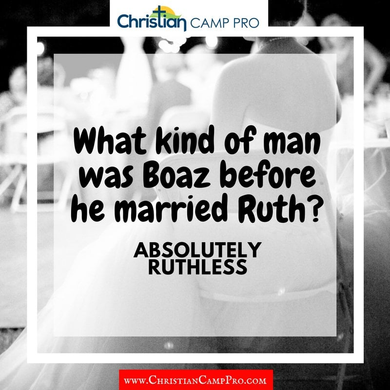 what kind of man was boaz before ruth