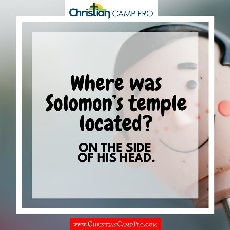 where is solomons temple