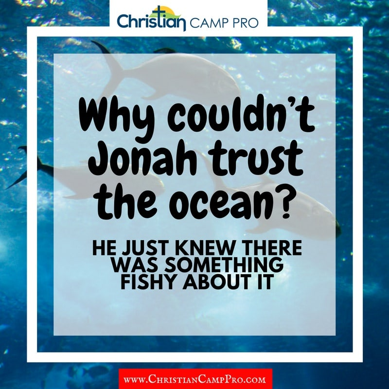 why couldnt jonah trust the ocean