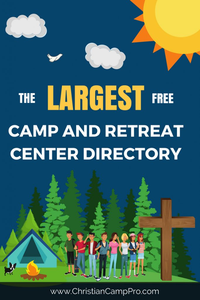 largest free youth camp and retreat center directory