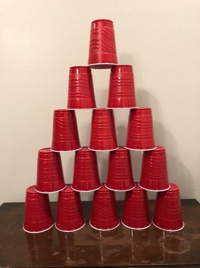 kid friendly red solo cup games