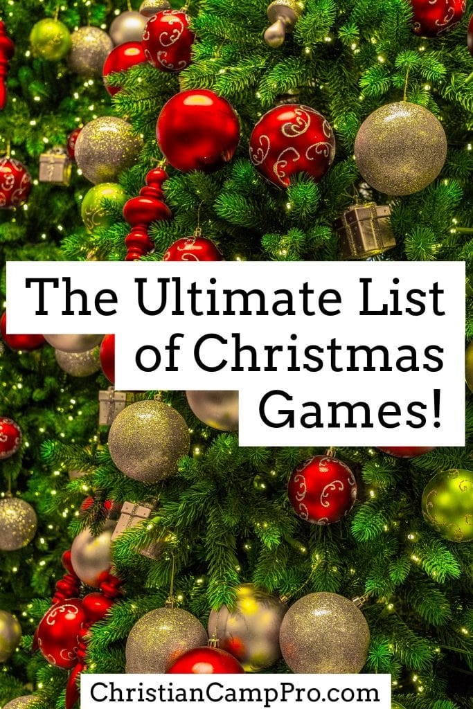 best list of chistmas games - Christmas Decoration Games