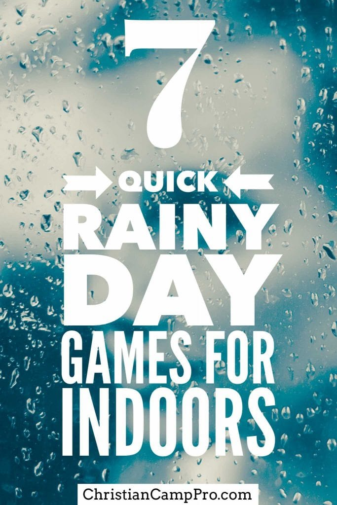 indoor rainy day games