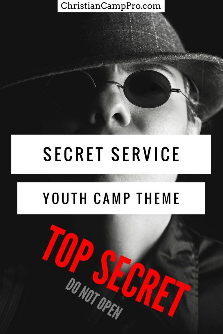 secret service youth camp theme