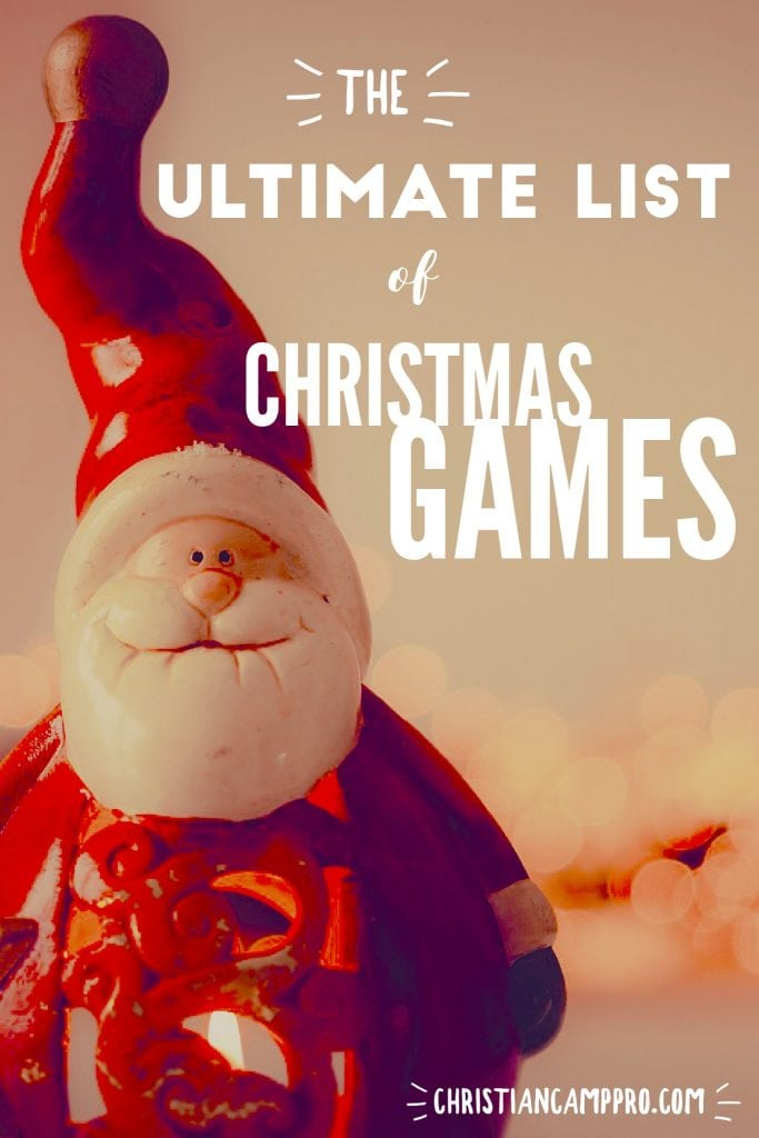 ultimate list of christmas games