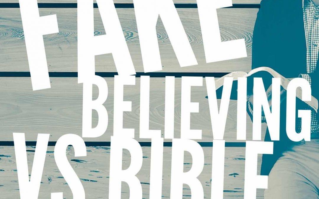 Skit: Fake Believing vs Bible Reading