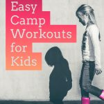 easy camp workouts for kids