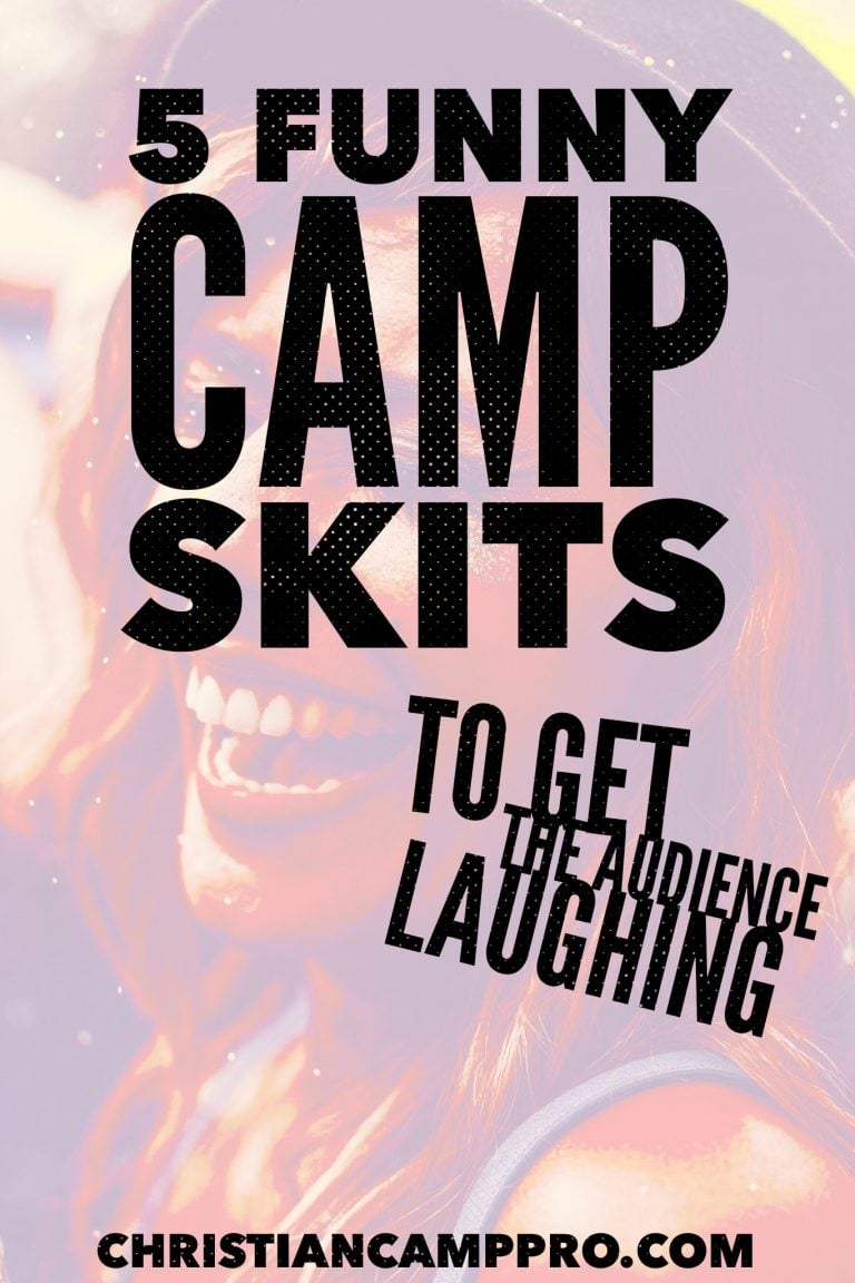 funny camp skits audience laughing