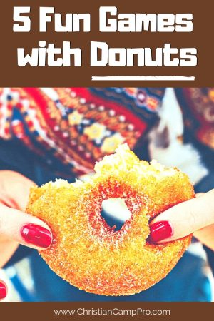 games with donuts