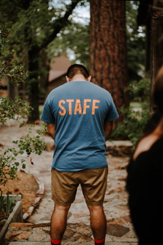 staff back