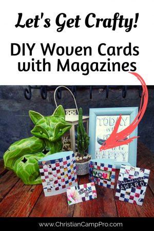 DIY Woven Cards