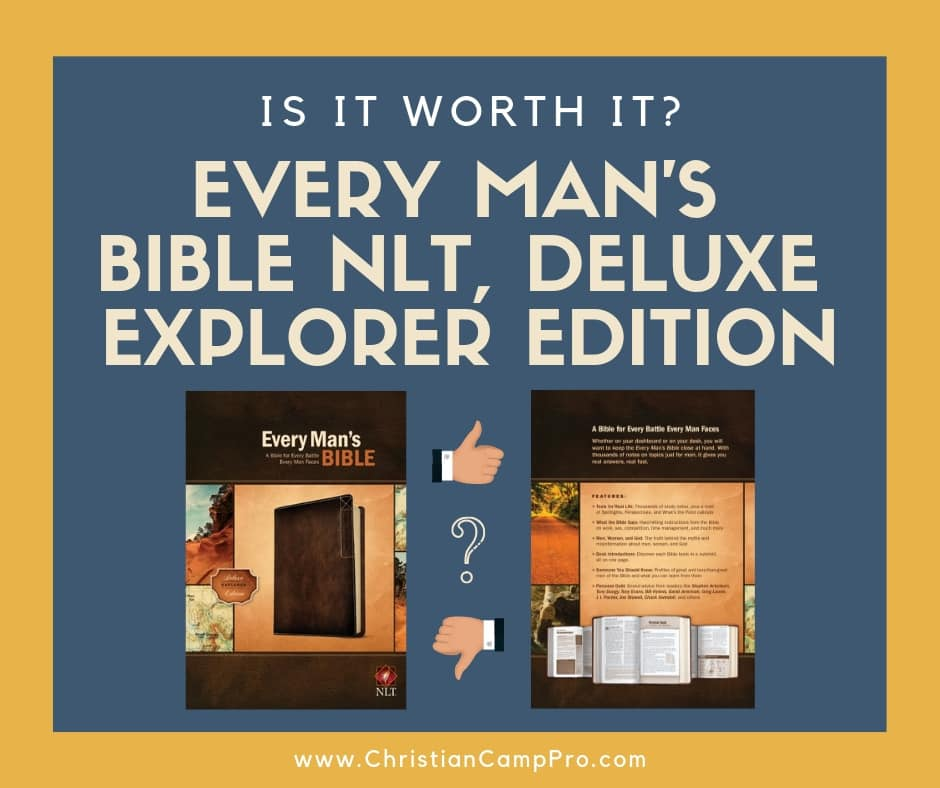 every mans bible deluxe explorer edition