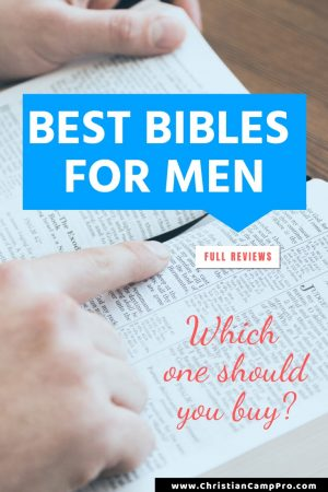 best bibles for men review