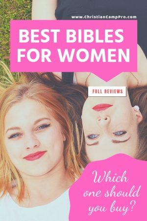 best bibles for women reviewed