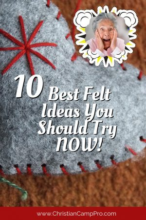 best felt craft ideas