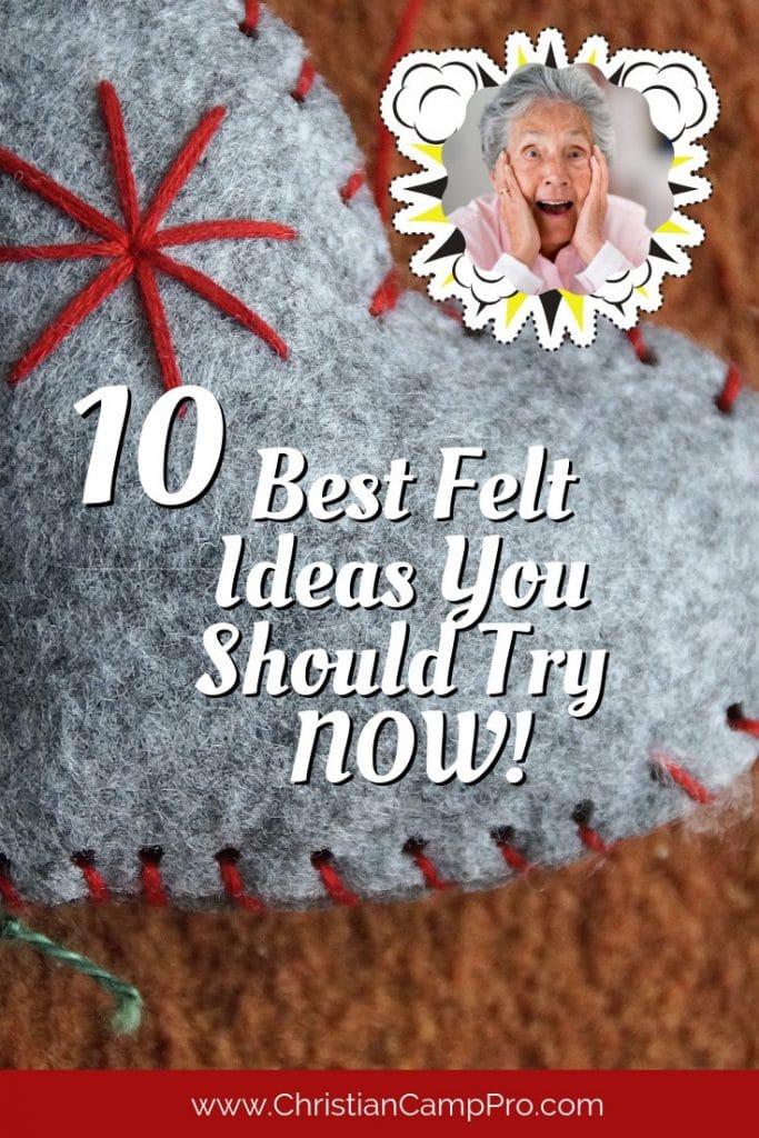 best felt craft ideas
