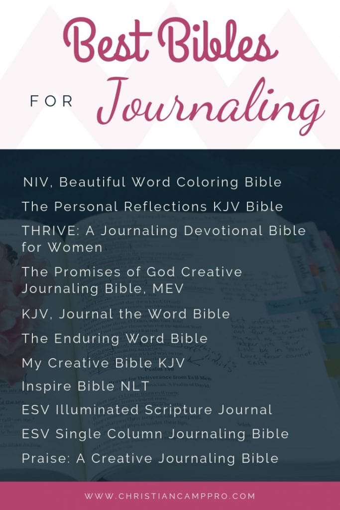 bibles for journaling reviews