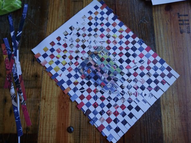 diy woven cards step 4b