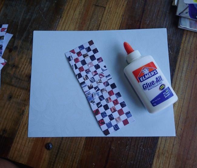 diy woven cards step 5b