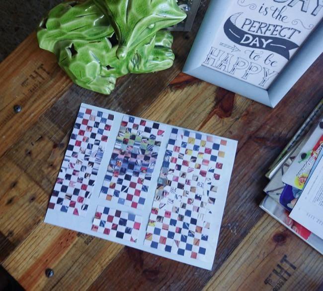 diy woven cards step 5d