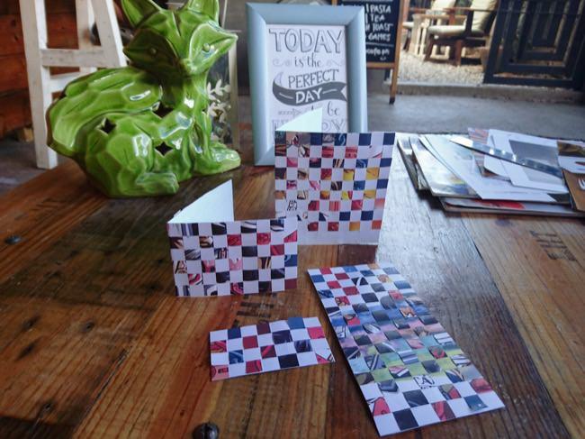 diy woven cards step 5e