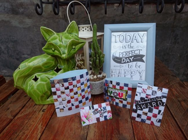 diy woven cards step 7