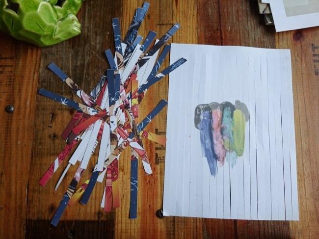 diy woven cards step 2b