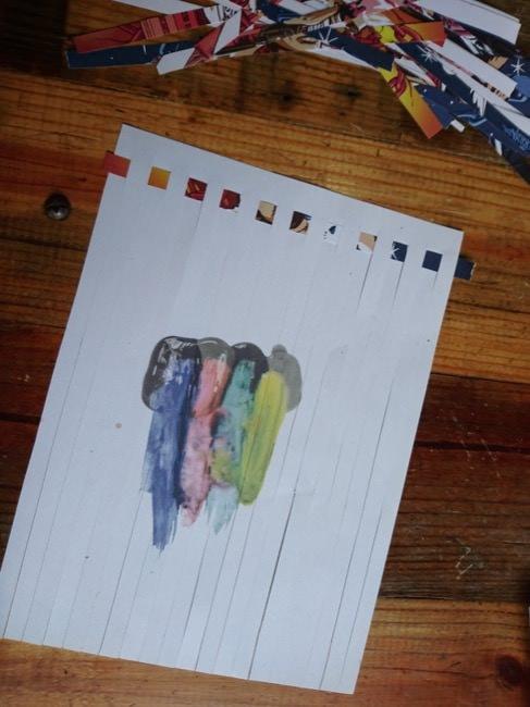 diy woven cards step 3b