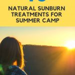 10 natural sunburn treatments