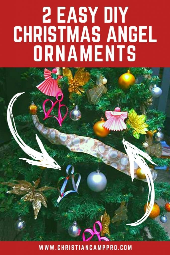 2 Easy Diy Angel Christmas Ornaments Christian Camp Pro