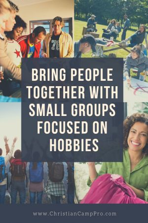 small groups focused on hobbies