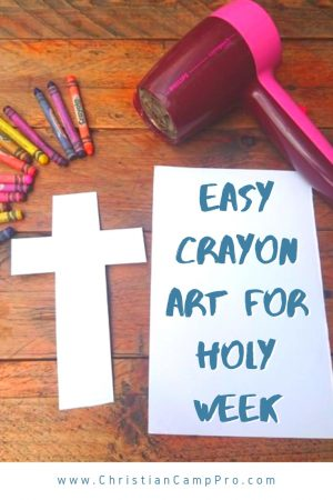 holy week crayon art featured