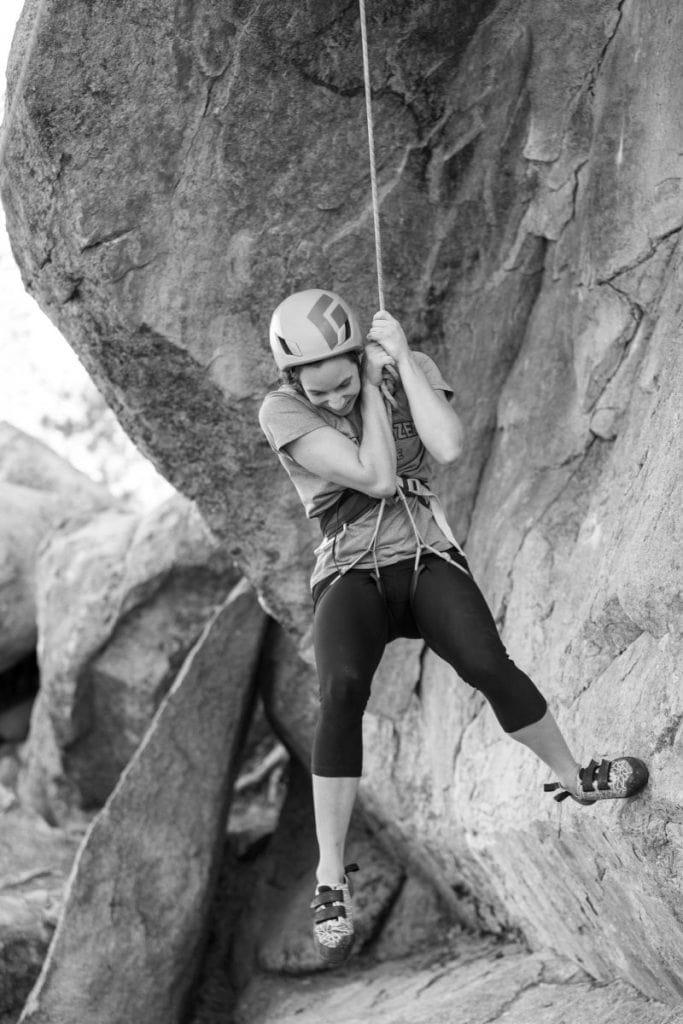 campground climbing