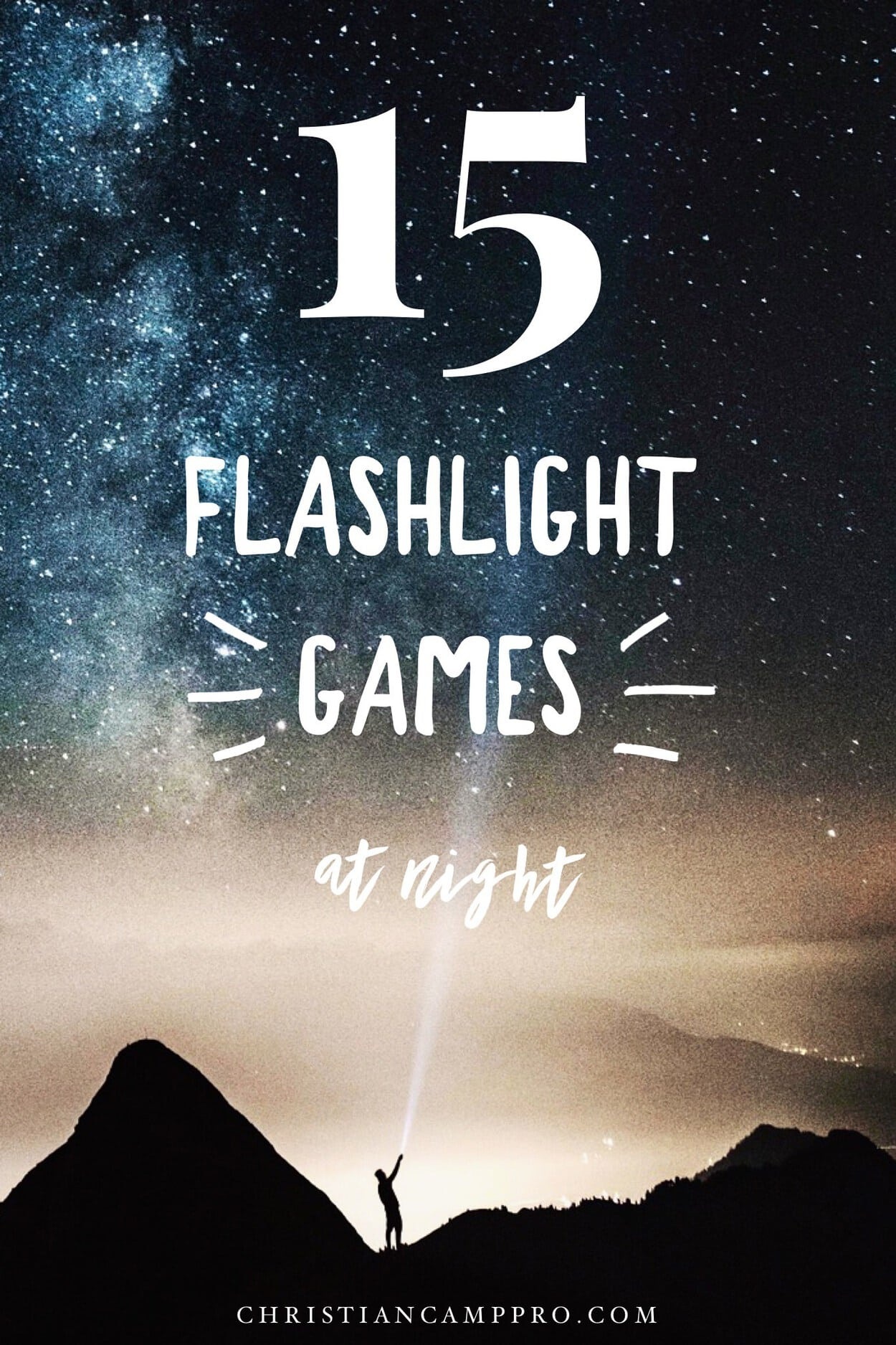 flashlight games at night