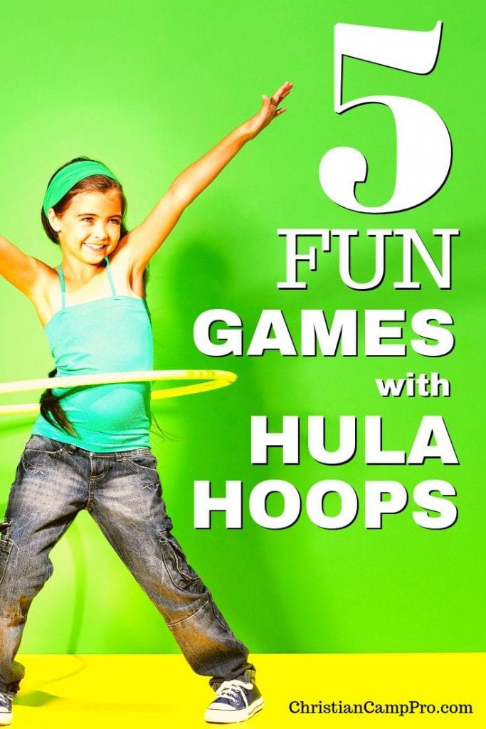 games with hula hoops