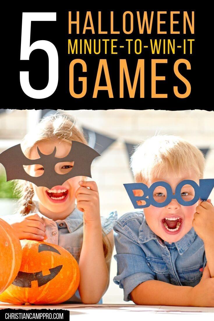 best halloween minute games