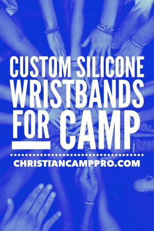custom silicone wristbands for camp