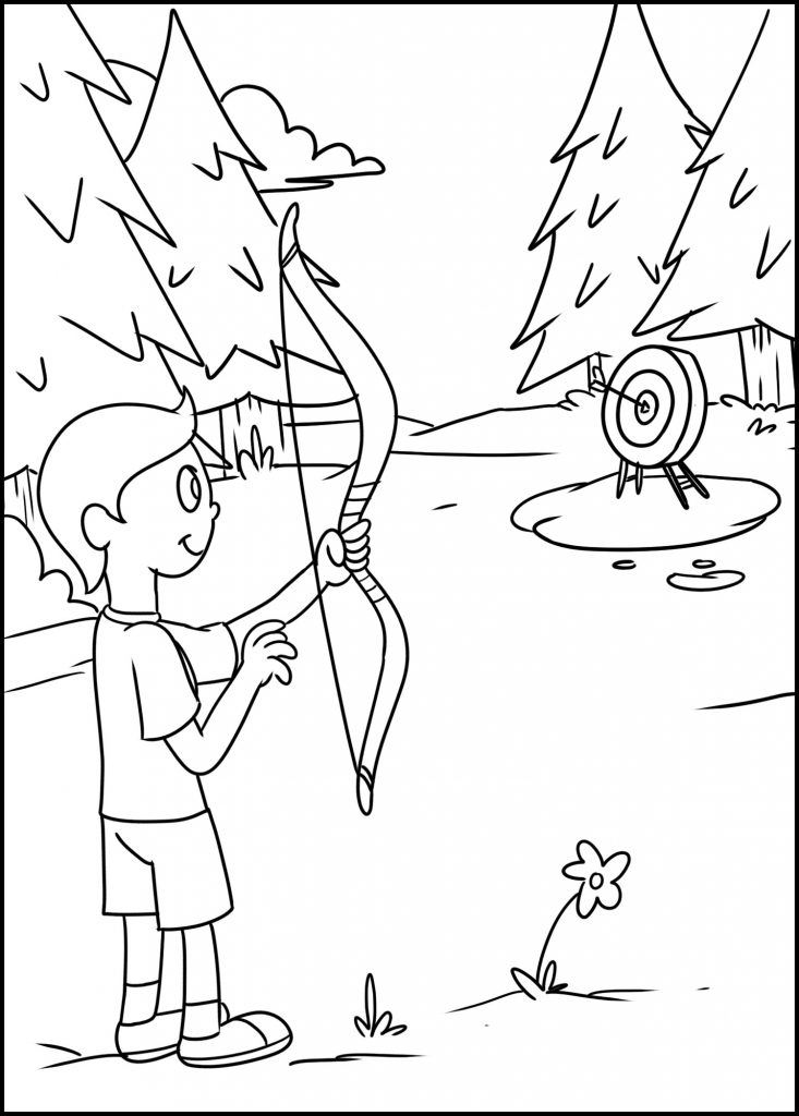summer camp archery