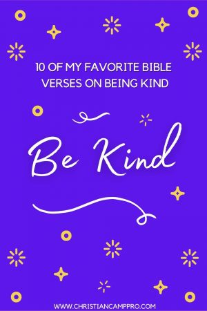 bible verses on kindness